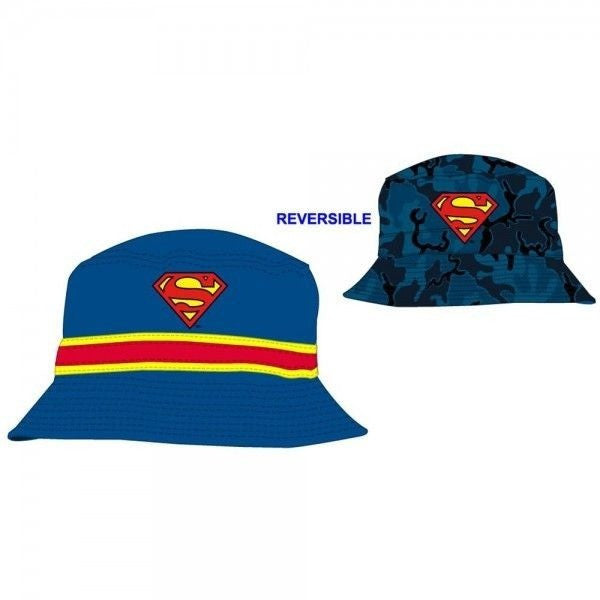 Superman Reversible Bucket Hat Uncanny!
