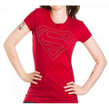 Superman Rhinestone Shirt