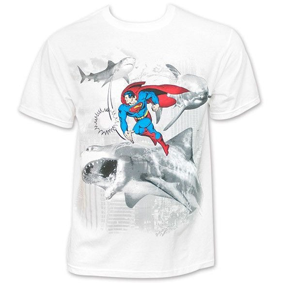 Superman Shark Slap Shirt
