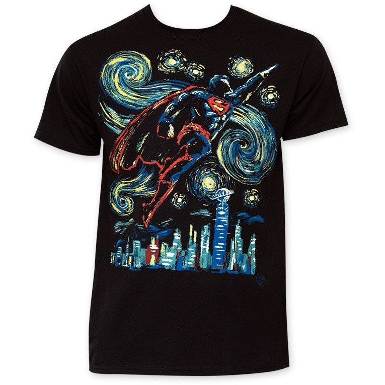 Superman Starry Night Shirt