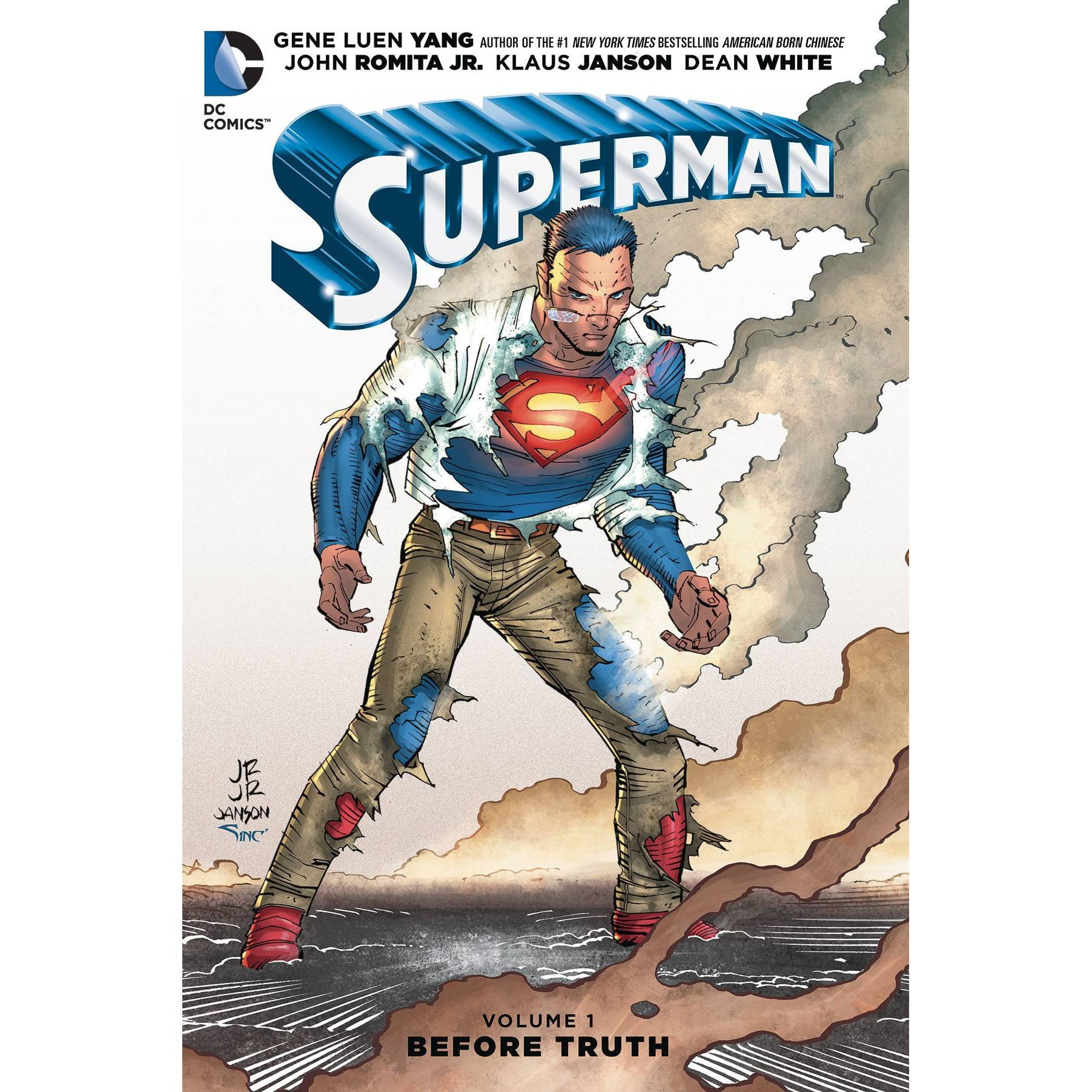 Superman: Before Truth Vol. 1 TP Uncanny!