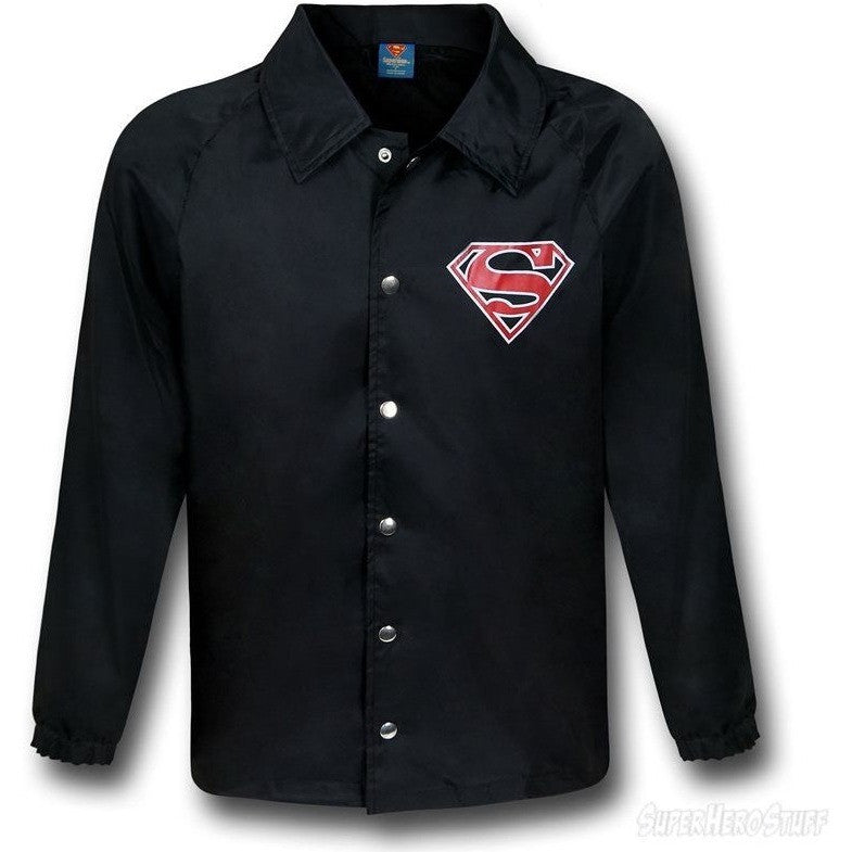 Superman Windbreaker Jacket Uncanny!