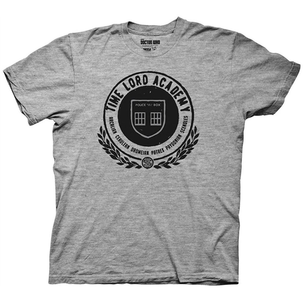 Time Lord Academy Grey Shirt