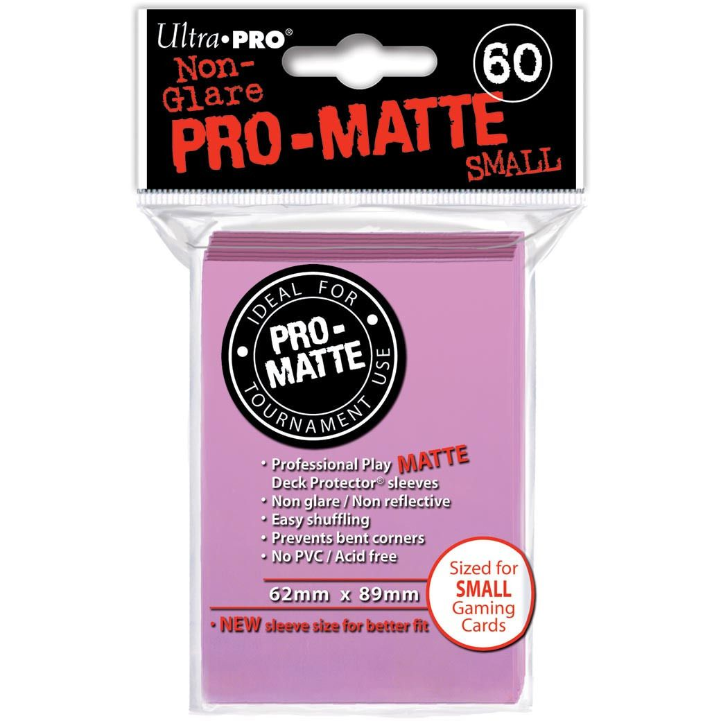 Pink Ultra-Pro Small Pro-Matte Sleeves, 60 count Uncanny!