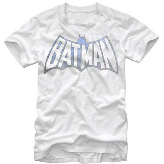 Batman Faded Vintage Logo Shirt Uncanny!