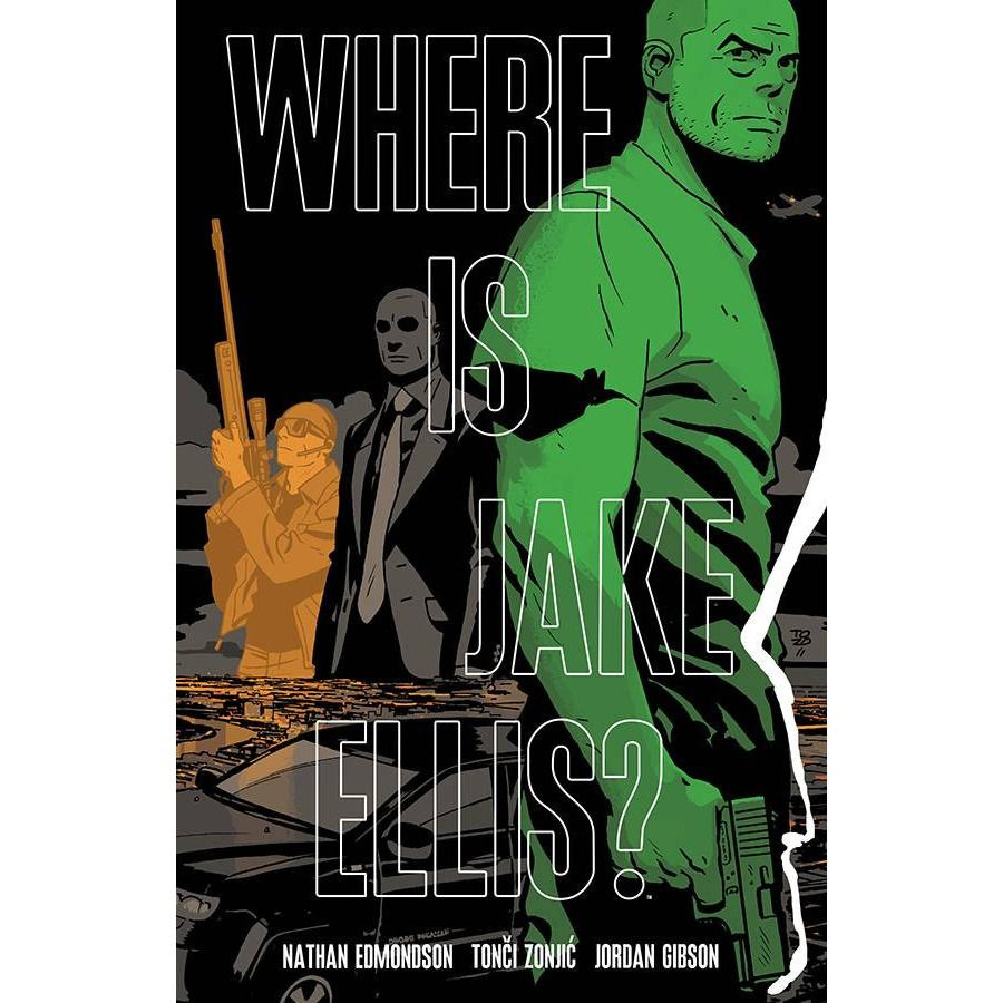 Where Is Jake Ellis? Vol. 2 TP Uncanny!