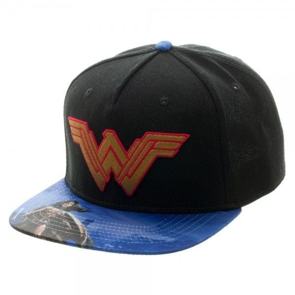 Wonder Woman Snapback Hat