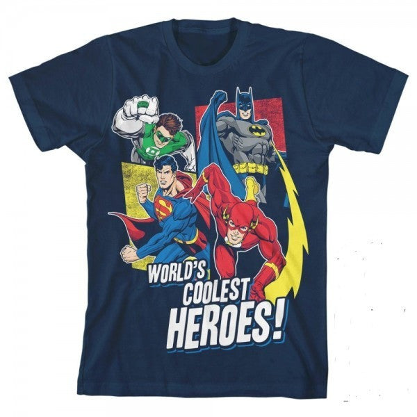 World's Coolest Heroes Youth Shirt