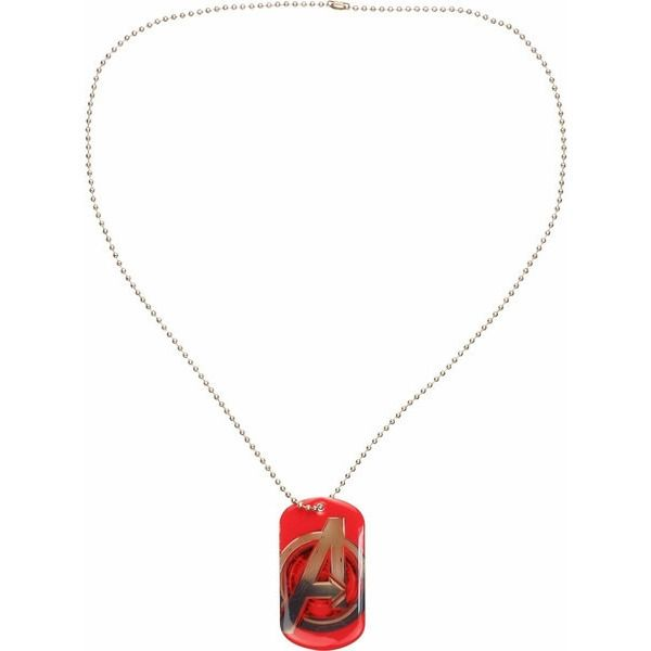 Avengers Age of Ultron Dog Tag Necklace