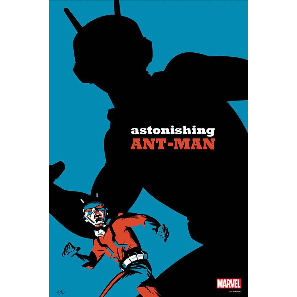 The Astonishing Ant-Man by Cho Poster Uncanny!