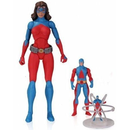 DC Icons Atomica Action Figure Set Uncanny!