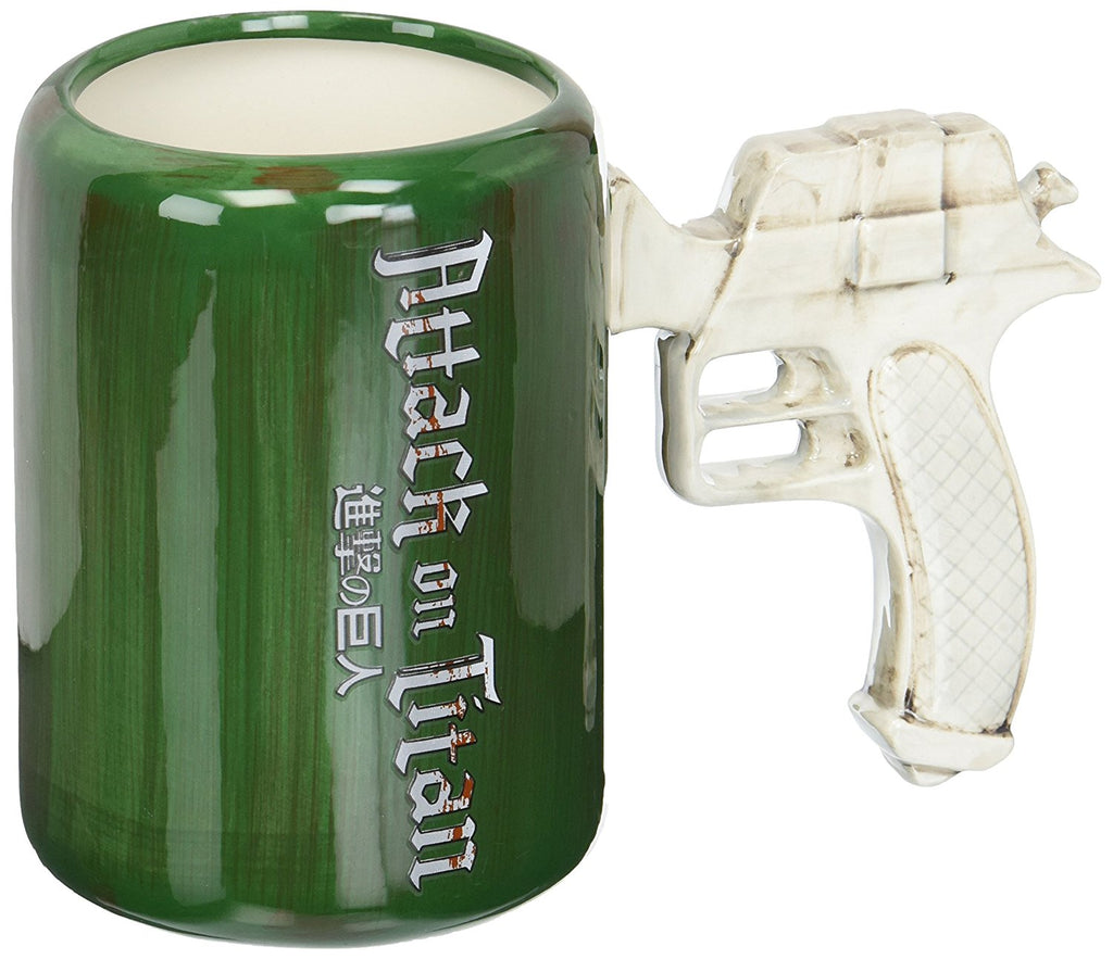 Attack On Titan Maneuvering Gear Handle Molded Mug