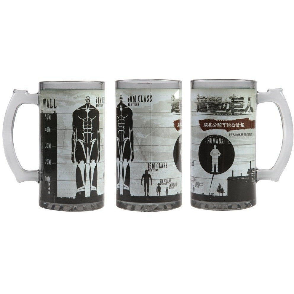 Attack on Titan Class Size Beer Stein