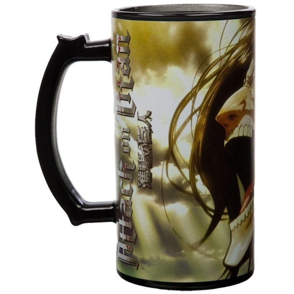 Attack on Titan Erin Titan Scream Stein