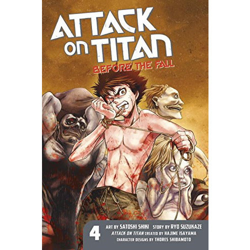 Attack on Titan GN Vol 4 Before the Fall Uncanny!