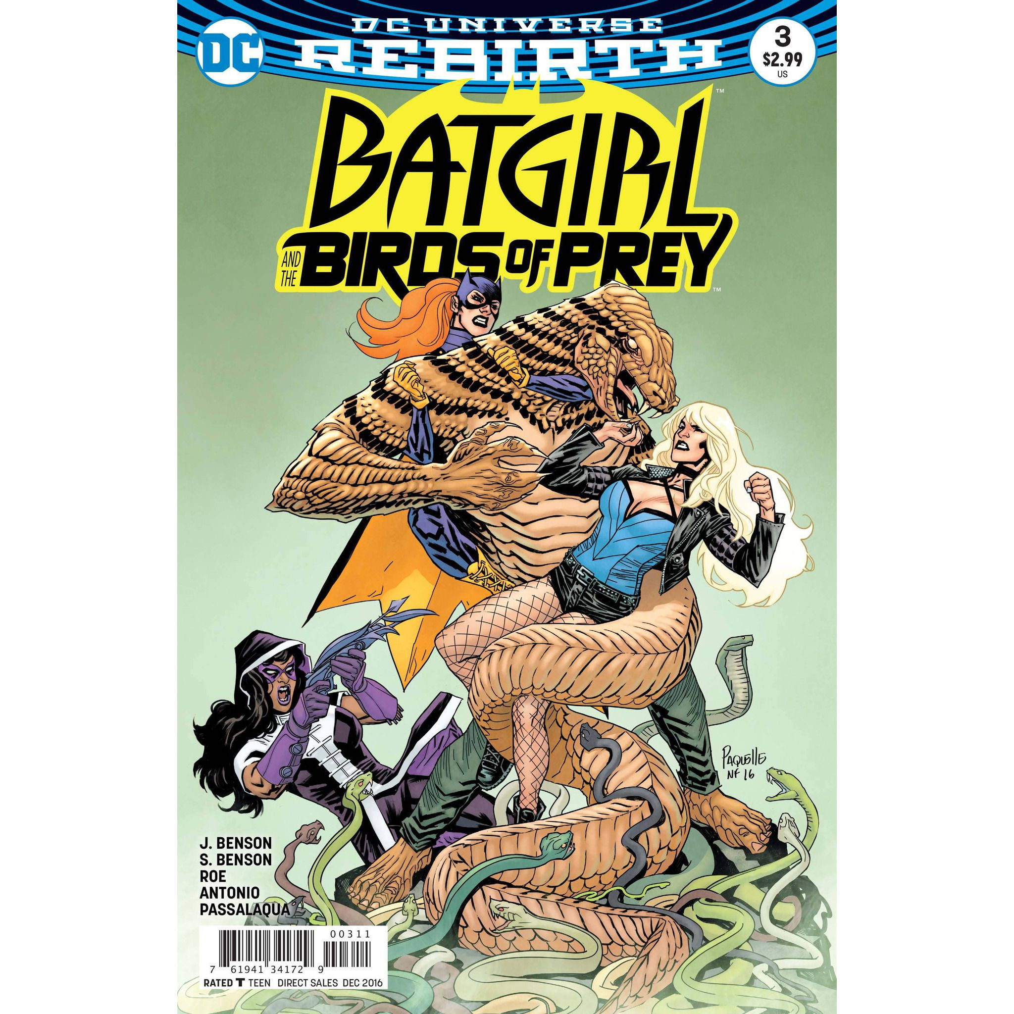 Batgirl And The Birds Of Prey #3 Uncanny!
