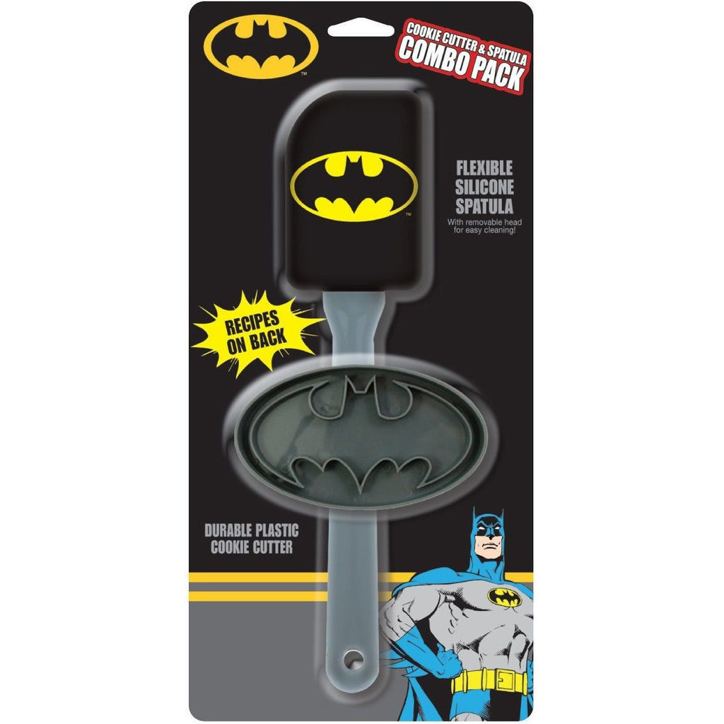 Batman Cookie Cutter & Spatula Combo Pack