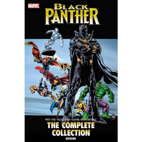Black Panther The Complete Collection TP Vol 2 Uncanny!