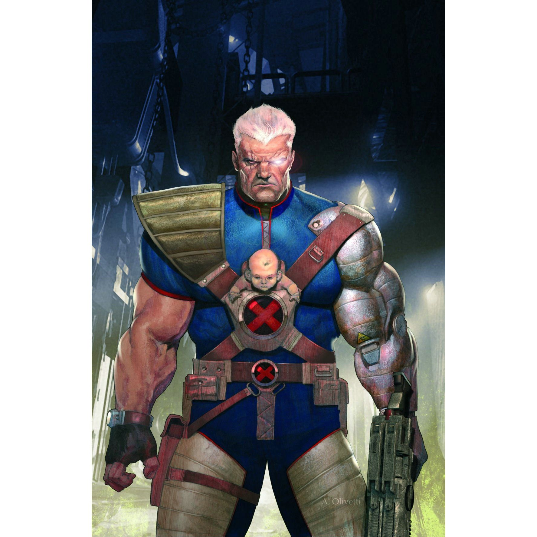 Cable TP Vol 1 Messiah War Uncanny!