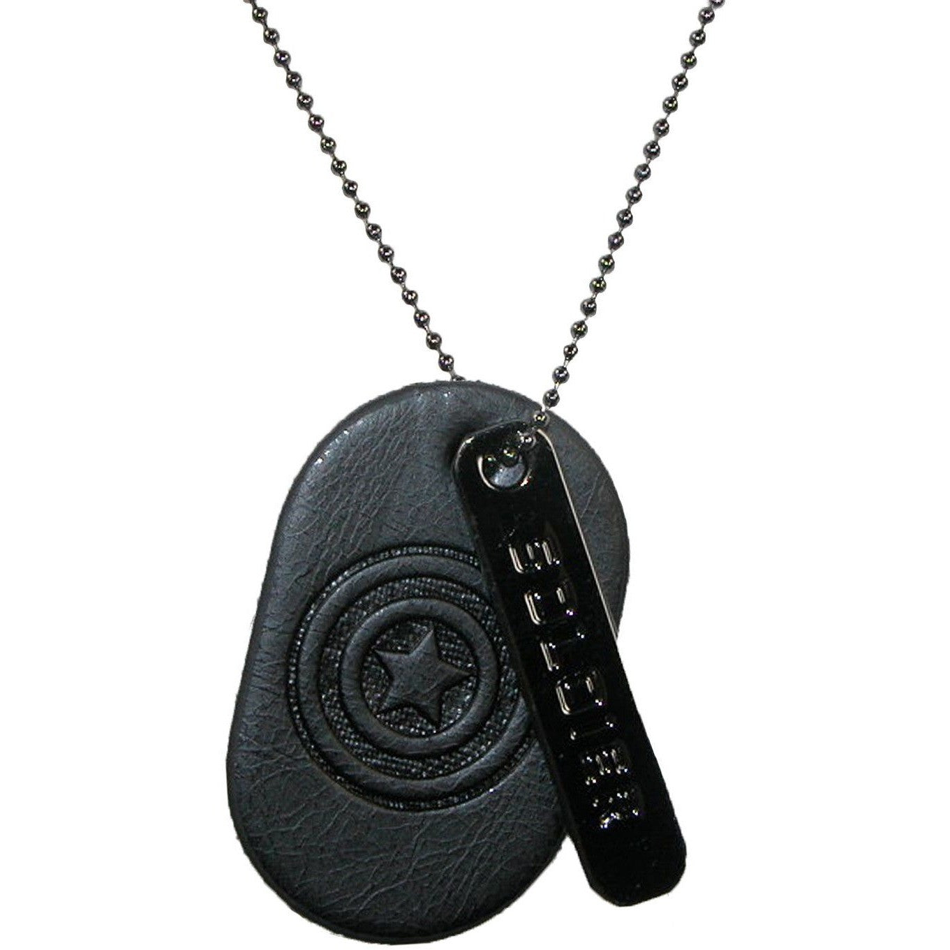 Captain America Dog Tag Necklace Uncanny!