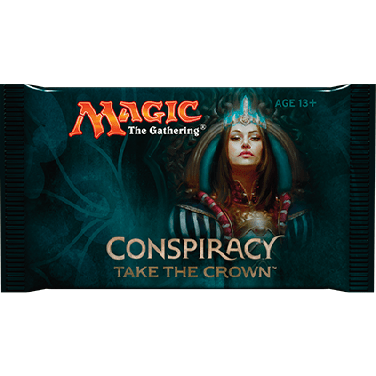 Magic The Gathering Conspiracy Take the Crown Booster Pack Uncanny!