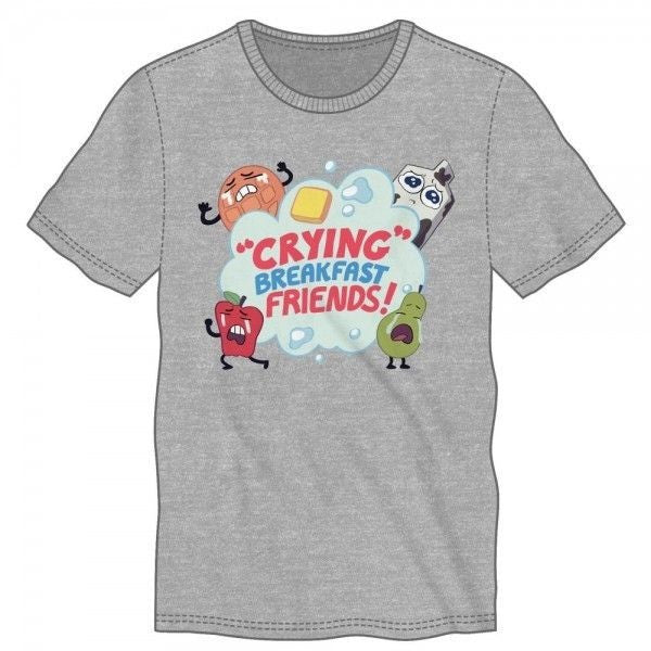 Crying Breakfast Friends Shirt Uncanny!