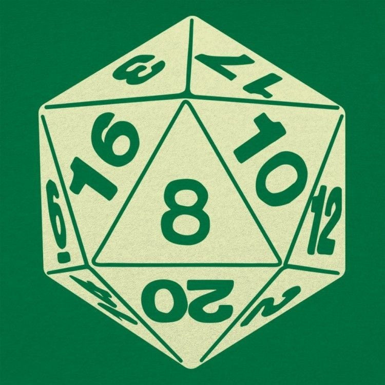 D20 Juniors Green Shirt