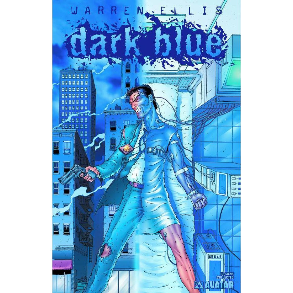 Dark Blue By Warren Ellis TP Uncanny!
