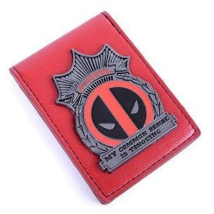 Deadpool Emblem Bi-Fold Wallet