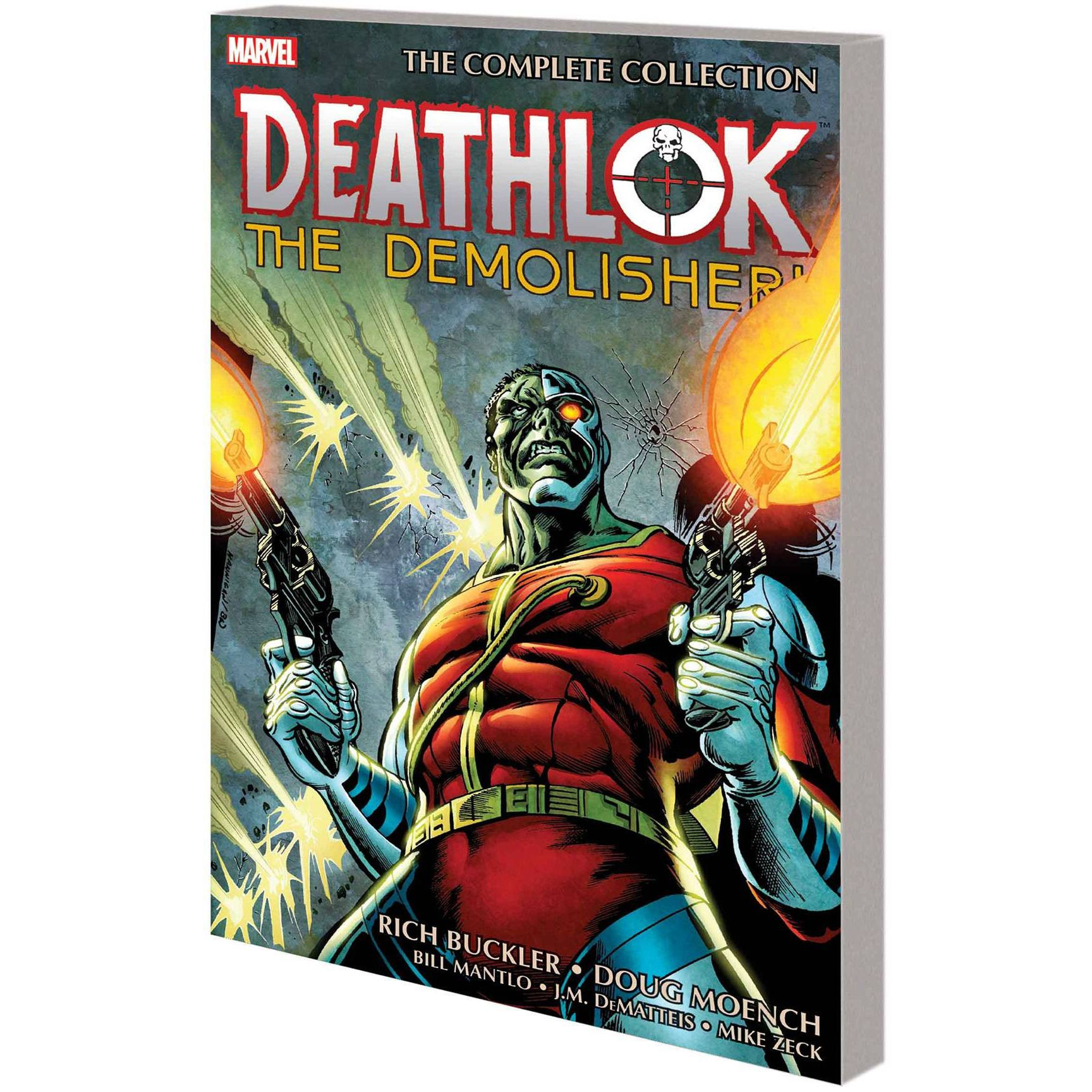 Deathlock TP The Demolisher Complete Collection Uncanny!