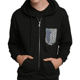 Attack on Titan Scout Regiment Hoodie Uncanny!