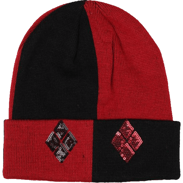Harley Quinn Sequined Beanie Uncanny!