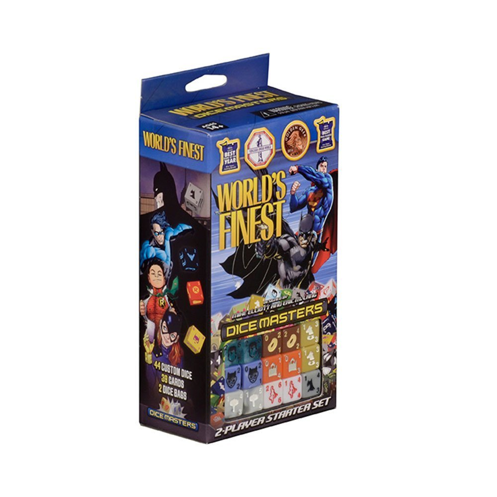 Dice Masters: World's Finest 2 Player Starter Set