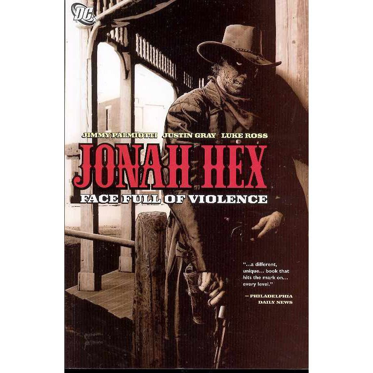 Jonah Hex TP Face Full Of Violence Uncanny!
