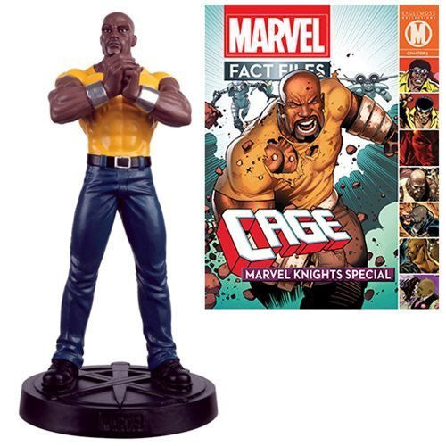 Marvel Fact File #21 Luke Cage Statue with Collector Magazine