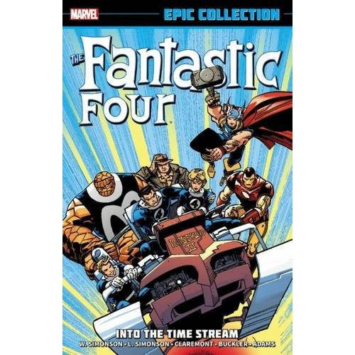Fantastic Four Epic Collection TP Into The Time Stream Uncanny!