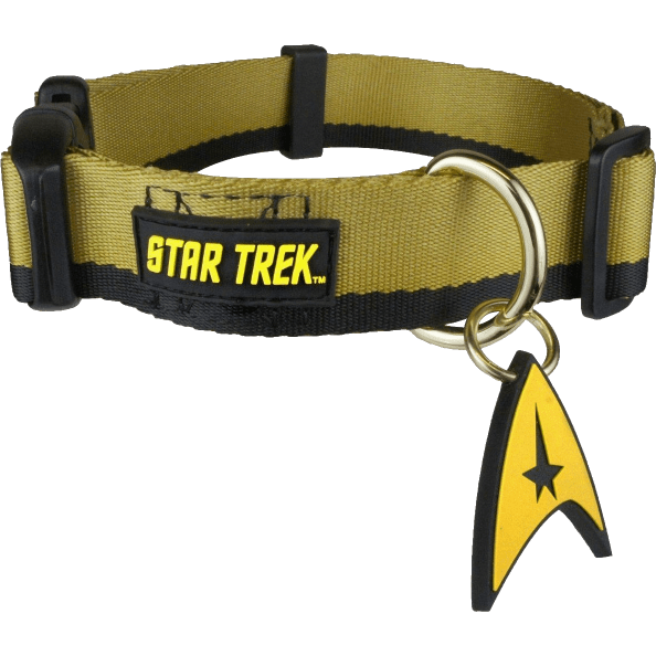 Dog Collar - Star Trek - Uniform Gold Uncanny!