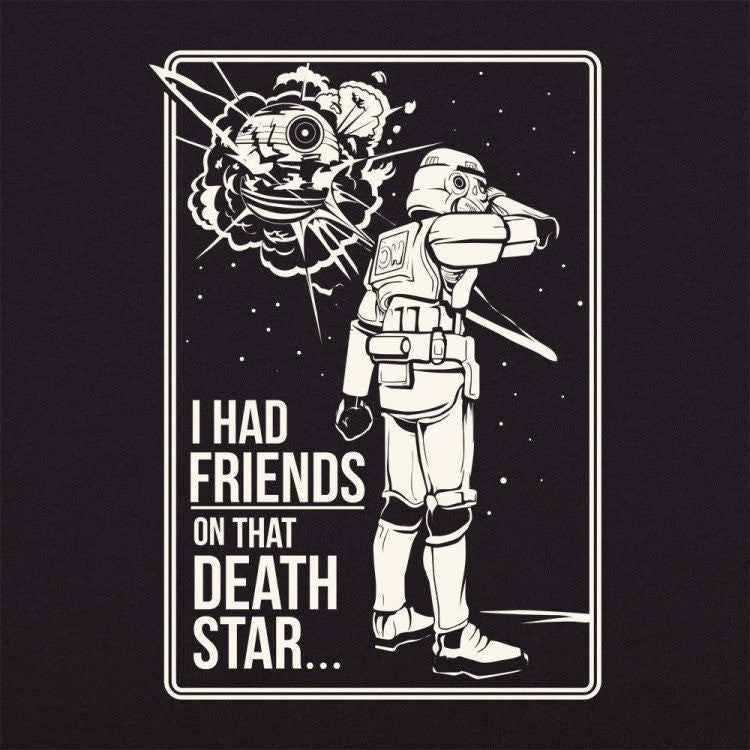 Star Wars Death Star Friends