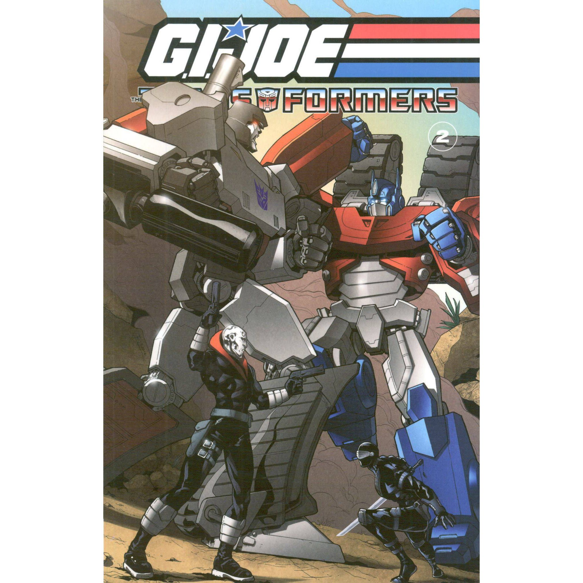 G. I. Joe Transformers TP Vol 02 Uncanny!