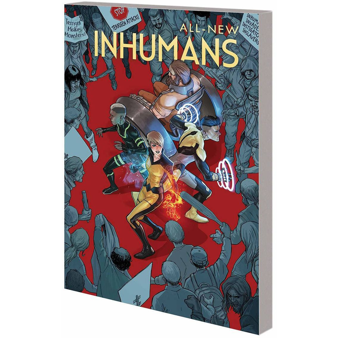 All New Inhumans TP Vol 1 Global Outreach Uncanny!