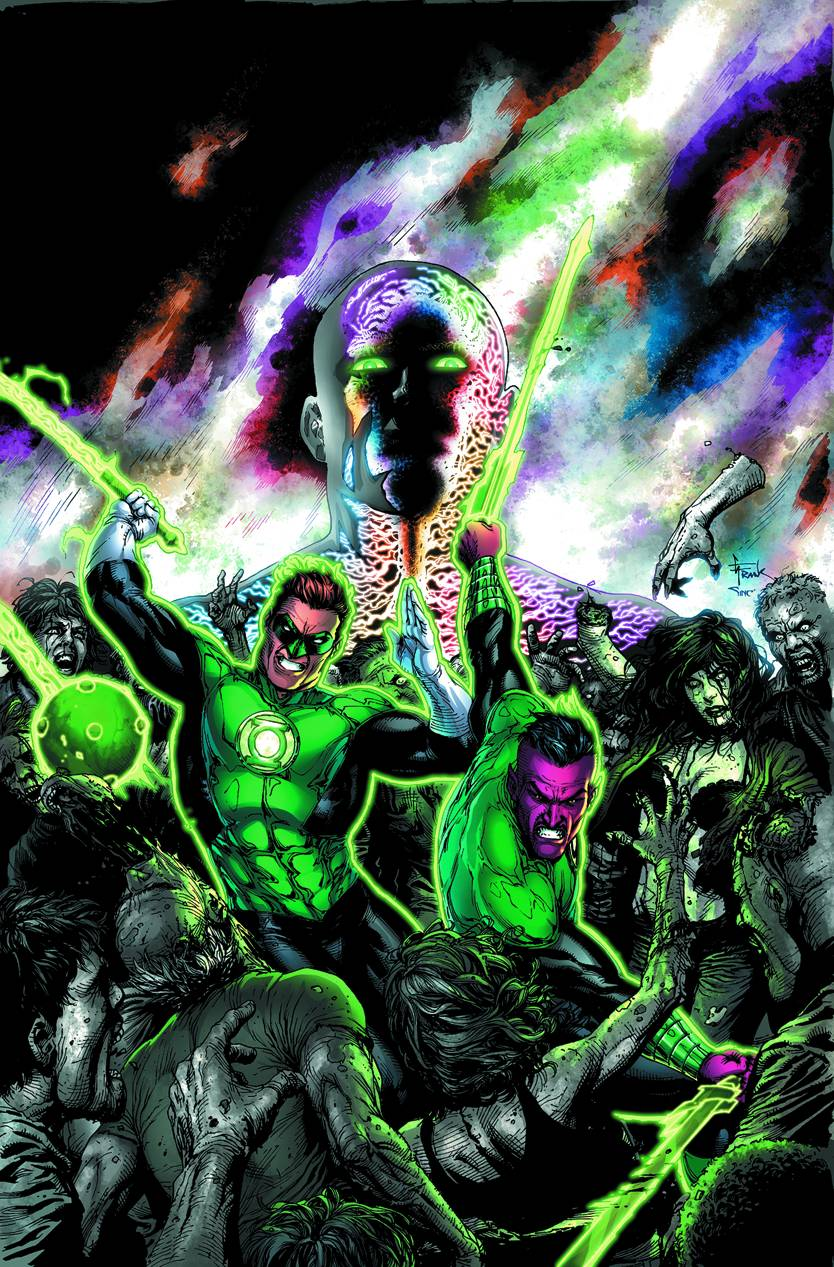 GREEN LANTERN WRATH OF THE FIRST LANTERN HC (N52)