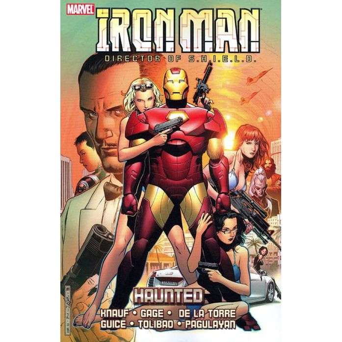 Iron Man Director Of SHIELD TP Haunted Uncanny!