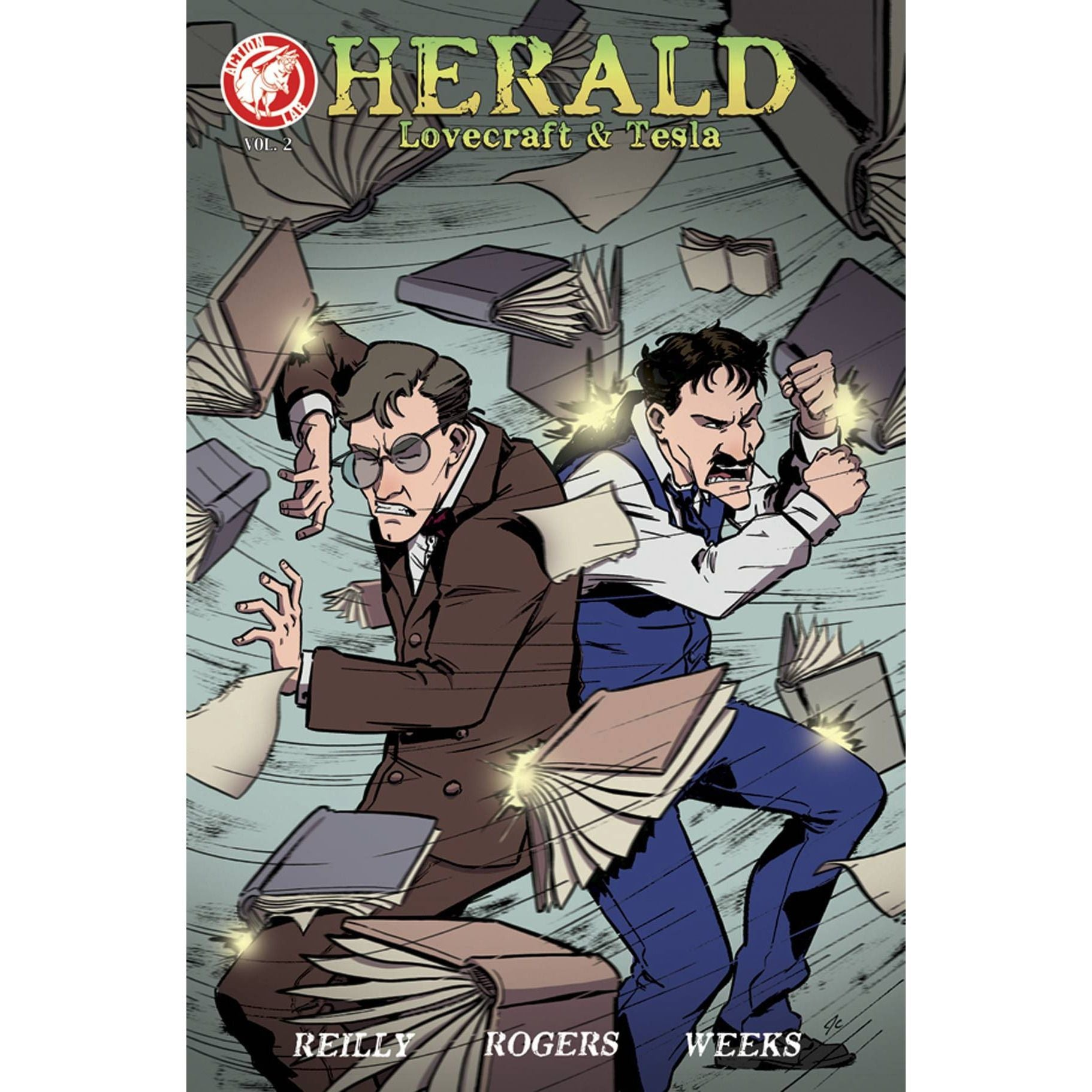 Herald Lovecraft & Tesla TP Fingers To The Bone Uncanny!