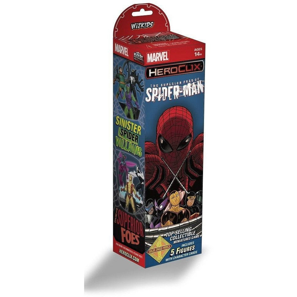 HeroClix Superior Foes Of Spider-Man Booster Uncanny!