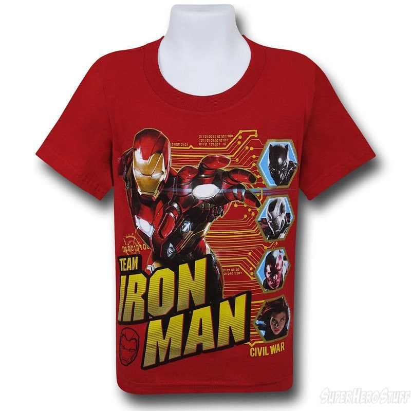 Iron Man Civil War Shirt