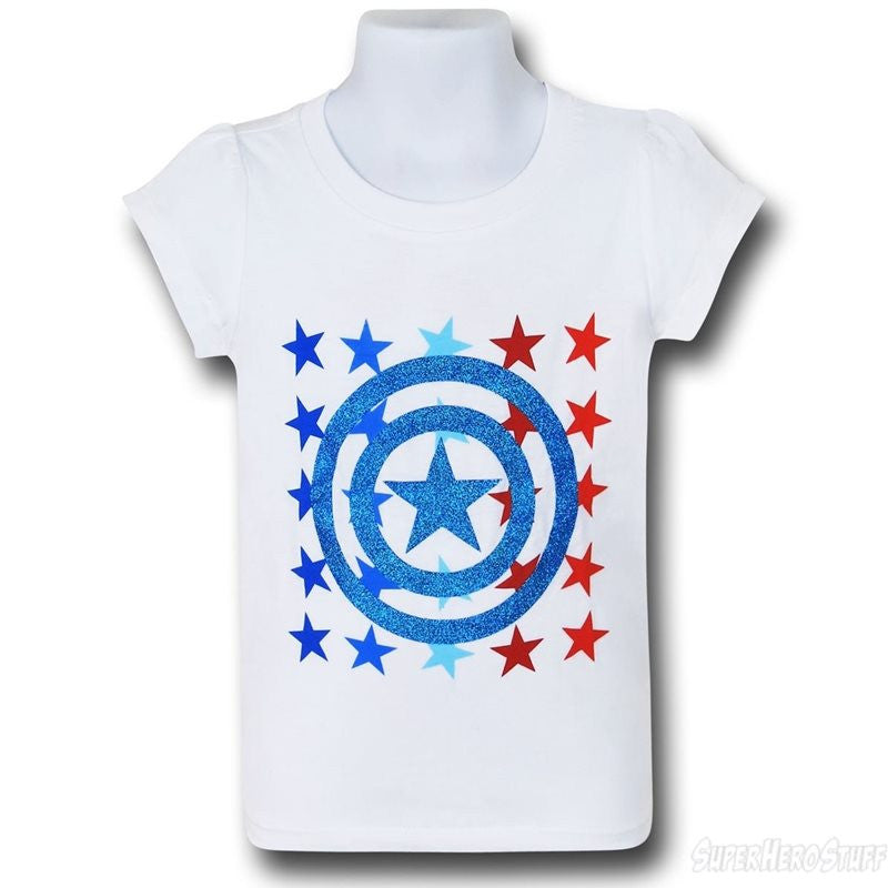 Captain America Sparkle Shirt