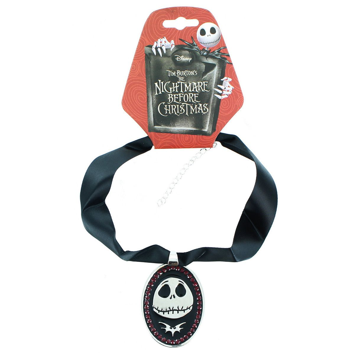Nightmare Before Christmas Necklace - Jack Uncanny!