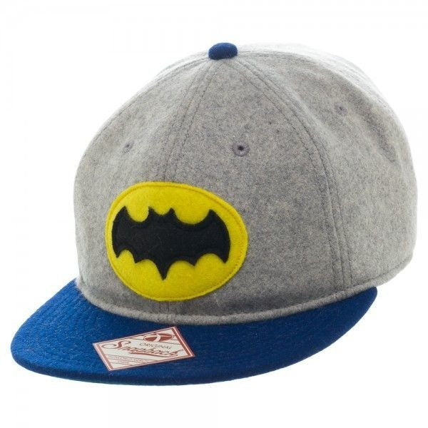 Batman 66 Wool Snapback Hat