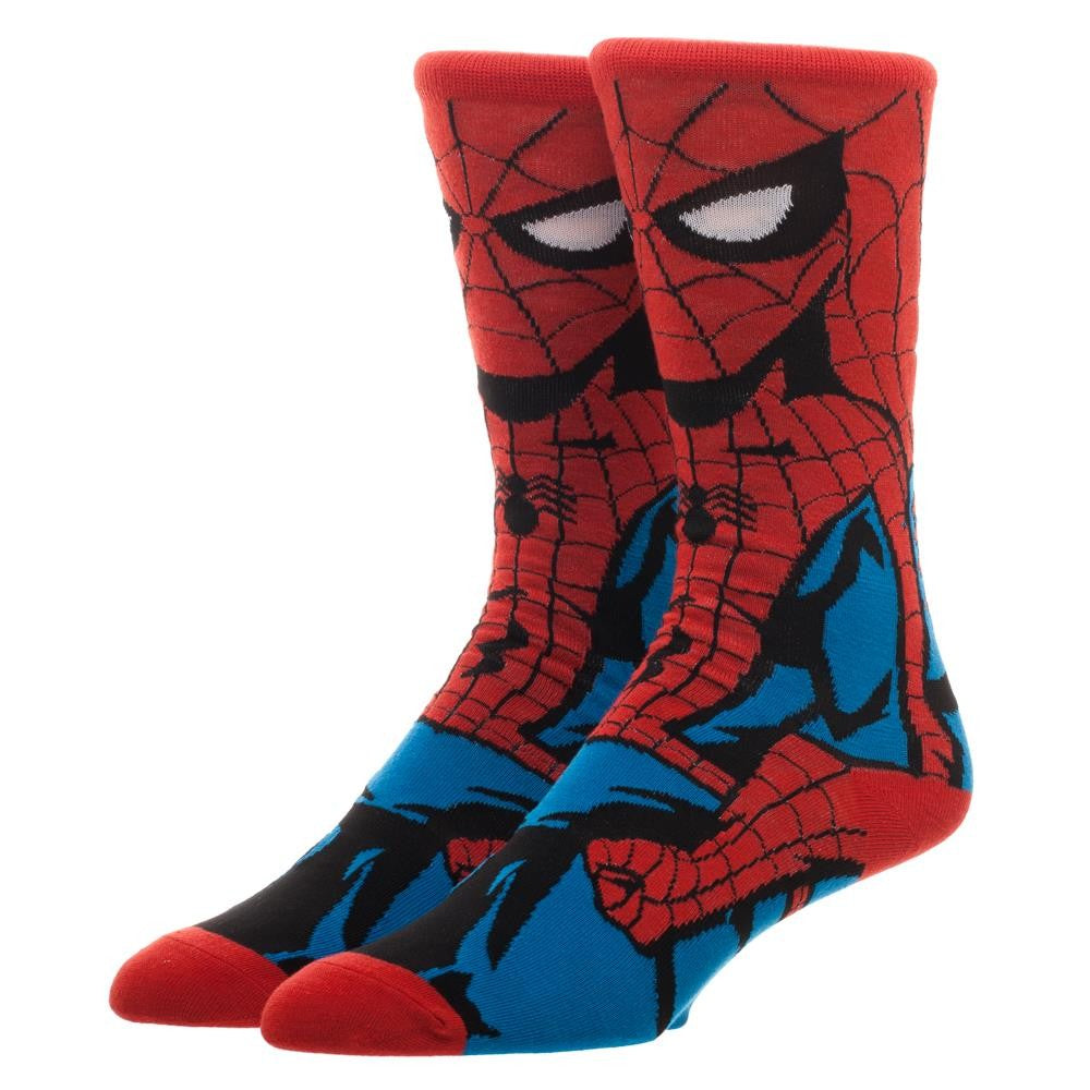 Spider-Man Costume Socks