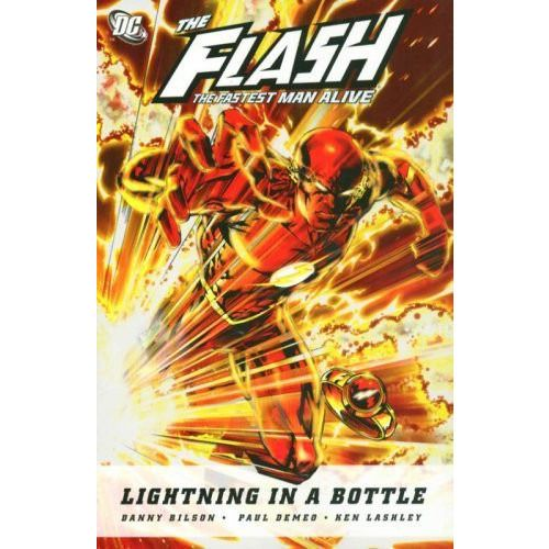 The Flash The Fastest Man Alive TP Lightning In A Bottle Uncanny!